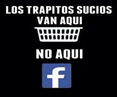 Trapitos sucios-No en Facebook