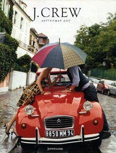 2CV rouge amour...sur un baiser !   http://www.chocomeet.com