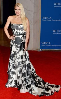 0adbecf3368 Jessica Simpson from 2014 White House Correspondents  Dinner  Star Sightings