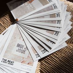 THE BEAT & BEAT JEANS. Lookbook design by Toni Miret Studio. Photo by Sanho Jin.