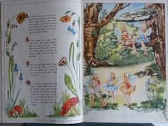My favourite childhood book. Many fond memories of my dear Nanna reading this to me. It was our special book :) Fairy Glen, Fairy Pictures, Mary Engelbreit, Faeries, Folk, Childhood, My Favorite Things, Day, Anna