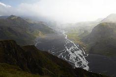 Þórsmörk from Valahnjúkur