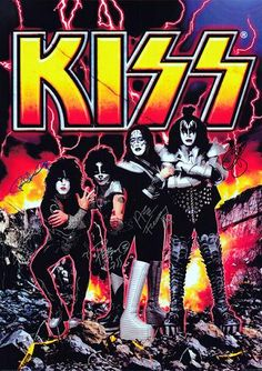 KISS is one of the world's biggest rock bands and they have played more than 3,500 concerts in front of 78 million fans around the world.
