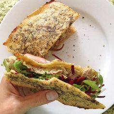 Tuna & Avocado Sandwich
