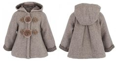 Stunning grey wool coat from @Fendi Huang junior fall winter 2013 kids collection. #grey #fendi #FW13 #fall #winter #fallwinter2013 #children #kids #childrenwear #kidswear #girls #boys