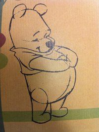 """This little Pooh Bear is all full of """"hunny"""" and fluff."""