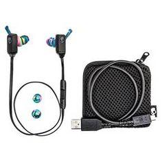 Skullcandy XT Free Wireless Bluetooth® In-Ear Headphones with Microphone - Black Swirl : Target