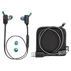 Skullcandy XT Free Wireless Bluetooth® In-Ear Headphones with Microphone - Black Swirl : Target