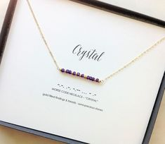 Rose Gold Diamond Necklace with Thin Chain/Trio Dainty Diamond Necklace in Rose Gold in bezel setting/ Graduation Gift - Fine Jewelry Ideas Peridot, Amethyst, Aquamarine Colour, Morse Code, Bar Necklace, Graduation Gifts, Sterling Silver Chains, Birthstones, Necklace Lengths