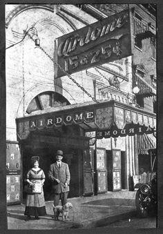 Airdome Theatre 1911. Chattanooga