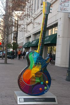 Vibrancy by Craig Hein, #Austin GuitarTown Project