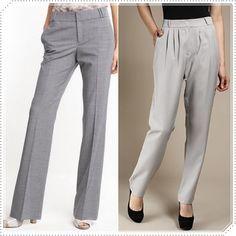 e94ce399e 10 melhores imagens de calca | Trousers women, Women blazer e ...