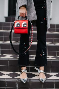 How To Pull Off Embellished Jeans