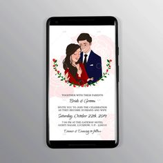 Personalised Illustrated Wedding Invitation. Wishing blooming future together. Any design wishes; Contact Us. Designer Swapnil- NIFT Alumni