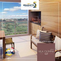 Pertinho do centro, no Bairro dos Alemães, o Edifício Vila Olímpia tem apartamentos com 3 dormitórios, 2 vagas na garagem e um detalhe especial: a varanda gourmet.