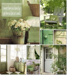 collage green by AT