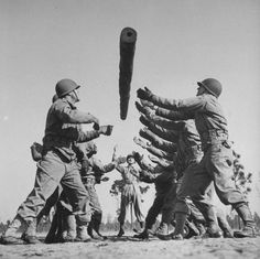 WWII Workout Week: Log Exercises | The Art of Manliness
