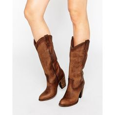 Buy Frye Ilana Pull On Western Leather Heeled Knee Boots at ASOS. With free delivery and return options (Ts&Cs apply), online shopping has never been so easy. Get the latest trends with ASOS now. High Heel Cowboy Boots, Tan Knee High Boots, Cowgirl Boots, Western Boots, Oversize Pullover, Asos, Leather High Heel Boots, Womens Boots On Sale, Boating Outfit