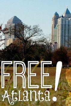 Free Atlanta: 30 Free Things to Do with Kids in Atlanta