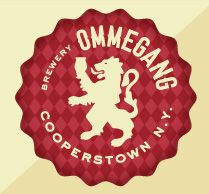 Ommegang Brewery's logo - another example of a logo that translates well to single-color applications