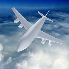 Passenger Air Liner Schematically 3Ds - 3D Model