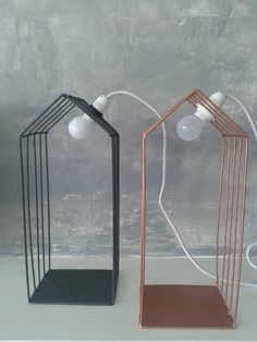 Lamp huis Made by H♡rthout