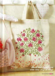 Rose bush pattern