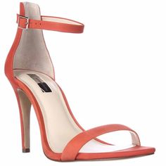 I35 Roriee Ankle Strap Dress Sandals - Papaya