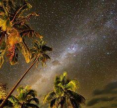 Awesome landscape.  #stars