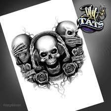 Image result for see speak hear no evil tattoos