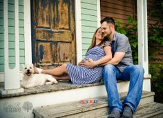 Maternity, Baby Boy, Old Town Spring, TX, Dog, family, Baby bump, Erin R. Photography