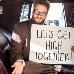 Seth Rogen is shooting a new movie, and we are giving away a chance to smoke with him on set!