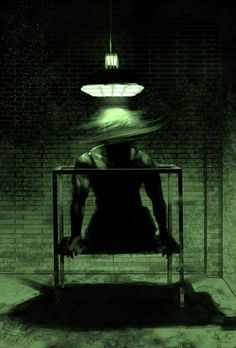 "JACOB'S LADDER (1990) directed by  Adrian Lyne . Love this artwork. Real horror film that gets under your skin.  Not a ""boo!-startle-the-audience with loud noises and edits film. http:/franciscoordonez.com"