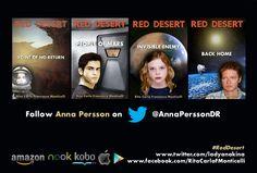 RED DESERT promo card, rear. www.anakina.eu