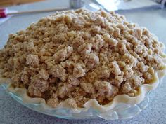 My husband LOVES apple pie. I like it, but if I had my choice I'd choose a different fruit or something with chocolate! When we go to lunch...