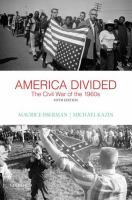 America divided : the Civil War of the 1960s / Maurice Isserman, Michael Kazin. Classmark: Pb.556.20A.I1