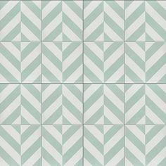 Cement Tile Shop - Encaustic Cement Tile Bruges Mint