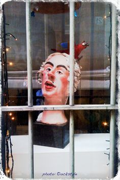 Casanova mask... Out of Focus :: Window Shopping in Rome :: #iPhoneography ©ockstyle