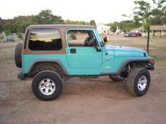 tiffany blue jeep wrangler - Google Search