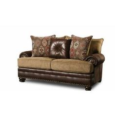 Modbury Loveseat by Fleur De Lis Living Sofa Upholstery, Fabric Sofa, Living Room Furniture, Home Furniture, Leather Loveseat, Best Sofa, Sleeper Sofa, Sofa Design, Love Seat