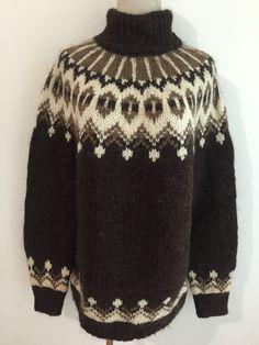 Knitting Projects, Knitting Patterns, Icelandic Sweaters, Knit Art, Fair Isle Knitting, Fashion Outfits, Womens Fashion, Vintage Patterns, Knit Crochet