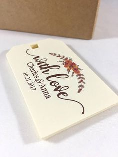 Thank You Wedding Tags, Rustic Wedding Favors, Welcome Bag Tags, Wedding Gift Tags, Wedding Favor Tags, Wedding Thank You Favors, 12
