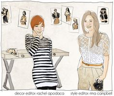 Brooklyn Styled: new website about decor with awesome illustrations brooklyn_styled_editors Brooklyn Style, New Trends, Artsy Fartsy, Illustrations, Website, Awesome, Decor, Fashion, Moda
