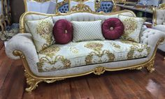 Furniture, Luxury Living Room, Royal Furniture, Furniture Decor, Luxury Sofa Design, Sofa Set, Victorian Furniture, Carved Sofa, Ornate Furniture