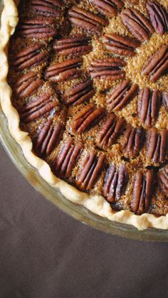 Texas Monthly Pecan Pie