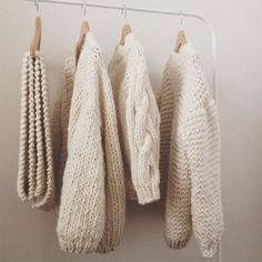 coziness via {this is glamorous} featuring knits by Mr. Mittens