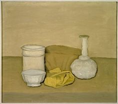 """Still Life"" (1952) oil on canvas by Giorgio Morandi Museum Of Modern Art / SF"