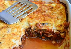 Slimming Eats Moussaka - gluten free, Slimming Eats (SP) and Weight Watchers friendly