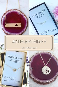 40th Birthday Ideas We Love Celebrating Milestone Birthdays And This Year Are Our Specialty Explore The Erin Pelicano Collection