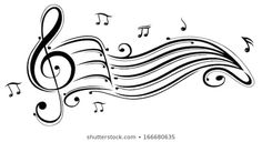 Find Clef Music Sheet Music Notes stock images in HD and millions of other royalty-free stock photos, illustrations and vectors in the Shutterstock collection. Music Tattoo Designs, Music Tattoos, Flower Vine Tattoos, Sheet Music Notes, Note Tattoo, Tattoo Flash Art, Stencil Designs, Disney Tattoos, Illustrations